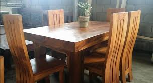 dining set wood. pure molave wood 6-seater dining set - buy wooden product on alibaba.com
