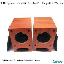 diy speaker cabinet 4 inch full range speaker empty cabinet wooden box front labyrinth guide hole diy speaker cabinet