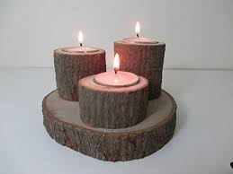 reclaimed lighting. Natural Handmade Avocado Wood 3 Tea Light Triple Candle Holder Made From Reclaimed Chilean Wood. Candelabra, Candlestick, Tealight Lighting