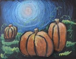 pumpkin drawing with shading. tints and shades on moonlit pumpkins (oil pastels baby oil) plus other cool art projects pumpkin drawing with shading n