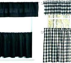 black and white plaid curtain panels buffalo