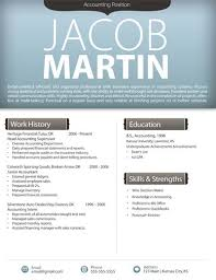 Free Resume Templates In Word Free Resume Templates Modern Resumes