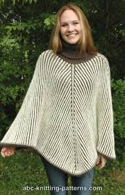 Free Knitted Poncho Patterns Gorgeous Modern Poncho Knitting Patterns In The Loop Knitting