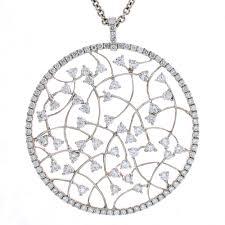 cheri dori diamond circle pendant
