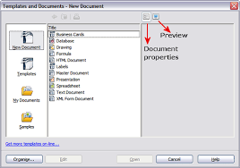 Avery Label Templates For Openoffice Using A Template To Create A Document Apache Openoffice Wiki