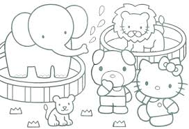 Preschool Spring Coloring Pages Printable Sheets Info Springtime For