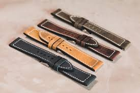 leather watch straps factory