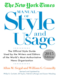 Cutler in the bluejacket's manual. Nyt Manual Of Style And Usage 15th Edition By Prof Barbosa Issuu