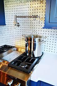 Kitchen Pot Filler Faucets Kitchen Pot Filler Faucet With Single Hole Chrome Finish Kitchen