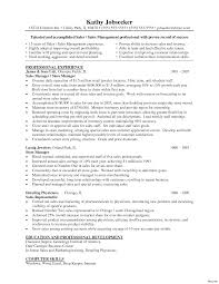 Retail Manager Resume Examples Retail Manager Resume Template Format Microsoft Word Assistant 4