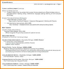 College Grad Resume Examples Sample Resumes For College Graduates
