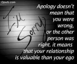 Apology Quotes #50774, Quotes | Colorful Pictures via Relatably.com