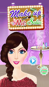 makeup me salon exotic graceful and makeover kids games