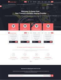 Website Html Templates 24 Best Web Hosting Website Templates Themes Free Premium 13
