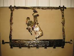 Western Coat Rack Western DnJ Creations In Metal 63