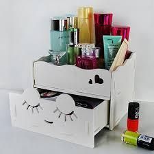 makeup organizer wood. waterproof diy carved cosmetic storage box makeup organizer wood drawer make up jewelry boxs c