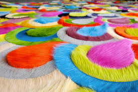 colorful rugs. Best Excuse To Pet Your Floors | Cool, Colorful Cowhide Rugs I