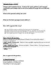helicopter parents essay  pptx   when you write an argument essay     pages thematicessayccotmedieval docx docx