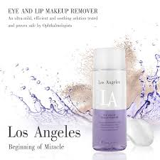 la eye and lip makeup remover efficiently indulges the delicate eye lids eye lashes and