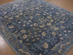 persian 2 5x9 3x5 5x8 8x10 9x12 botanical fl blue wool area rugs bl08