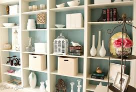 diy built in bookcases, painted furniture, shelving ideas, Built in Ikea  bookshelves