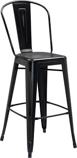 distressed metal furniture. Lansing Distressed Metal Indoor/Outdoor Bar Stool, Black Distressed Metal Furniture
