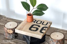 make your own doll furniture. Route 66 Kitchen Table / Upcycled Rustic Doll Furniture FunkyJunkInteriors.net Make Your Own N