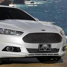 ford fusion blacked out grill. e\u0026g classics® - 2-pc black ice fine mesh main and bumper grille kit ford fusion blacked out grill a