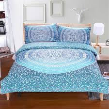 lndia bohemian duvet and bedding sets boho printed 3d mandala pillowcase single bedding set double au