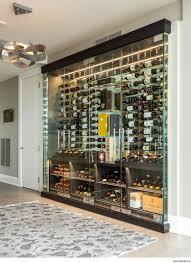 Glass Wine Room Design Custom Glass Enclosed Wine Cellar By Papro Wine Cellars