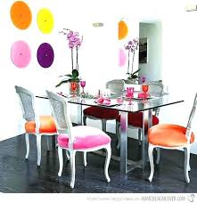 colorful dining table tables stylish colourful chairs colorf