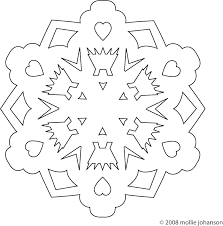 Simple Snowflake Patterns Ellisvillepd Org