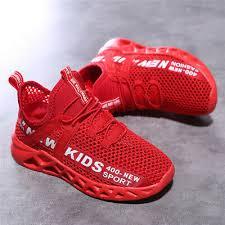 Kids <b>Boys</b> Girl <b>New</b> Sneakers Mesh Breathable <b>Cool</b> Outdoor ...