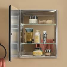 Brushed Nickel Bathroom Cabinet Elegant Brushed Nickel Medicine Cabinet Decor Design Ideas