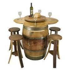 reclaimed wine barrel furniture wine barrel table set arched napa valley wine barrel