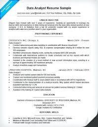 Entry Level Data Analyst Resume Custom 60 Best Of Data Analyst Resume Entry Level Wwwmaypinska