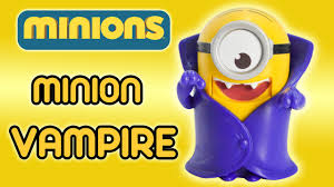 minion vampire minions movie mcdonald s happy meal toy minion vampire minions movie 2015 mcdonald s happy meal toy review by ilovethistoy