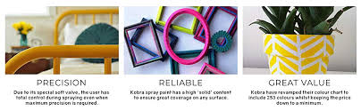 Kobra Color Chart Kobra Hp001 400ml Aerosol Spray Paint White