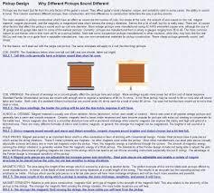 Humbucker Pickup Design Liams Research