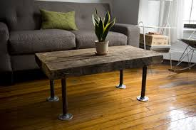 diy rustic counter height table plan make your own coffee table