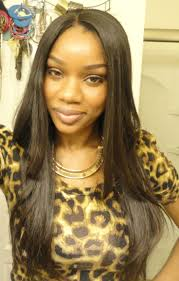 Sew In Hairstyles Long Hair 184 Best Images About Black Weave Hairstyles Long Silky Straight