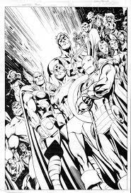 Pour Imprimer Ce Coloriage Gratuit Coloriage Comics Avengers 6
