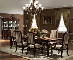 Dining Room Curtain Offers Dining Room Bay Window Treatment Ideas With Dining Room