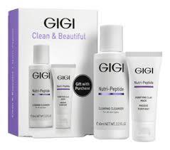 Купить набор для лица nutri-peptide clean & beautiful