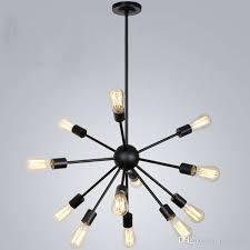 satellite chandeliers vintage wrought