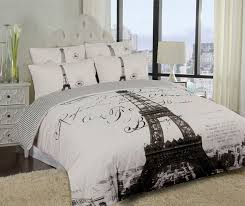 elegant paris eiffel tower bedding twin