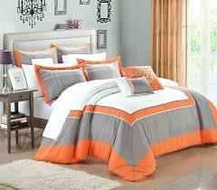 grey and orange bedding grey and orange bedding bedroom gray comforter set blue with regard to design grey orange quilt
