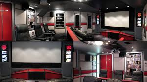 video game room furniture. Finest The Bridge Is Another Incredible Star Trekthemed Home Theatre It Took Owner Two Years To Build At A Cost Of Around Us With Best Video Game Room Furniture R