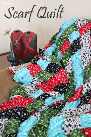 Quilt Pattern Tutorial: Make Your Own Quilt Out of Scarves! & Tutorial-for-how-to-make-a-scarf-quilt- Adamdwight.com