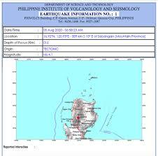 Recent earthquakes near quezon city, metro manila, philippines. Earth Shaker Update A Magnitude 4 1 Earthquake Occurred Facebook
